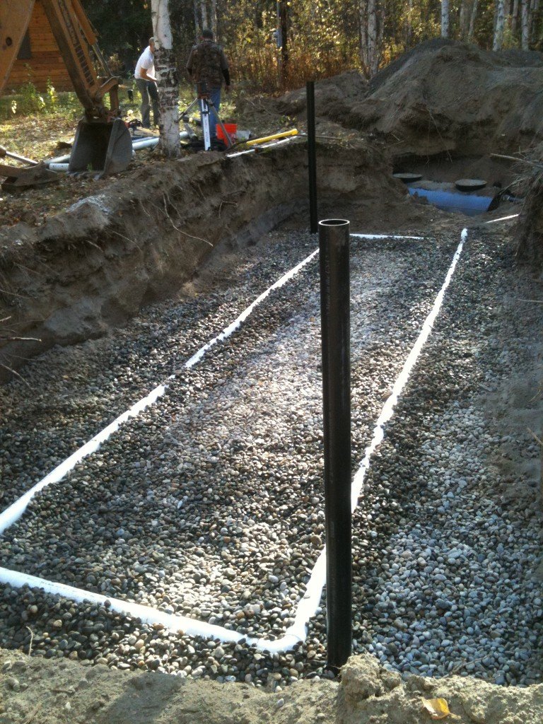 Arctic Dirtworks installed DEC certified septic